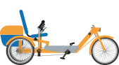 Semi-recumbent cycles